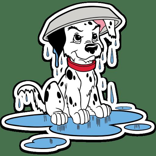 101 dalmatinec stickers telegram 26