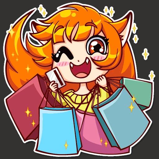 alisa fox stickers telegram 03