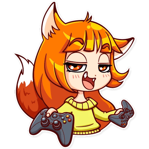 alisa fox stickers telegram 04