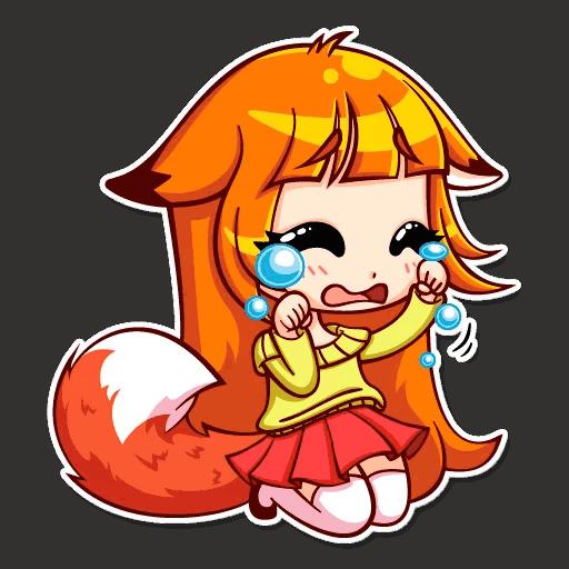 alisa fox stickers telegram 15