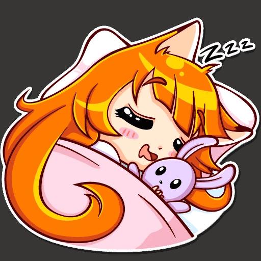 alisa fox stickers telegram 22