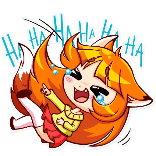 alisa fox stickers telegram 25