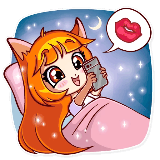 alisa fox stickers telegram 31