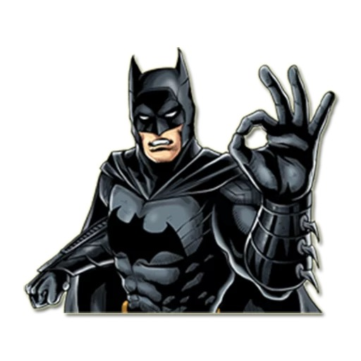 Стикеры Бэтмен