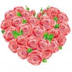 cvety i serdechki stickers telegram 14