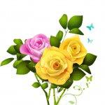 cvety i serdechki stickers telegram 29
