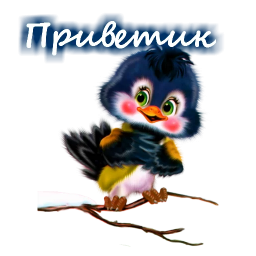 dobroe utro privet stickers telegram 22