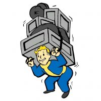 fallout vault boy stickers telegram 42