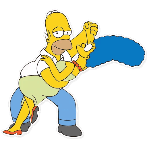 gomer simpsons stickers telegram 04