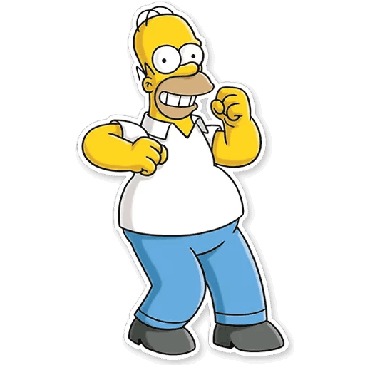 gomer simpsons stickers telegram 15