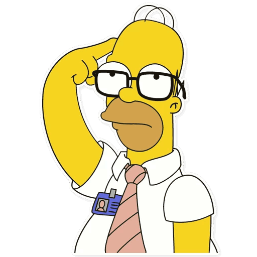 gomer simpsons stickers telegram 19