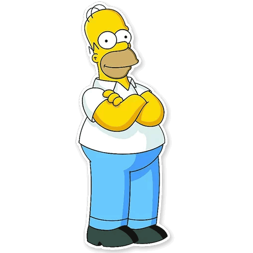 gomer simpsons stickers telegram 20