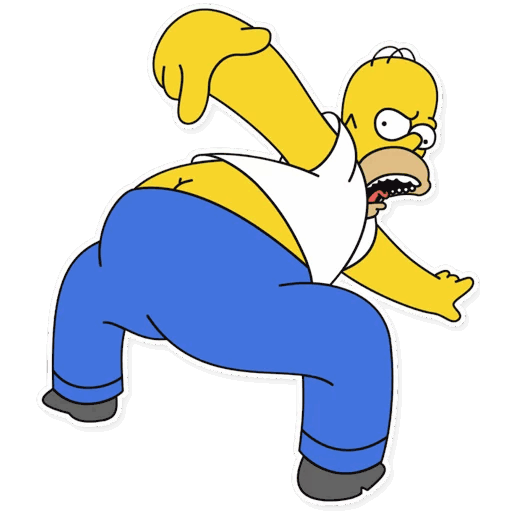 gomer simpsons stickers telegram 21