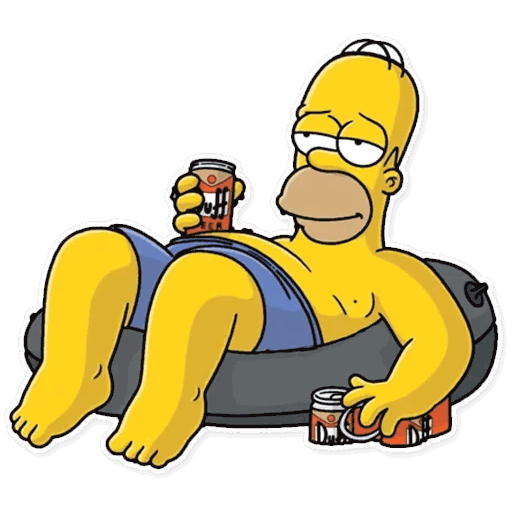 gomer simpsons stickers telegram 24