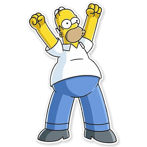 gomer simpsons stickers telegram 27