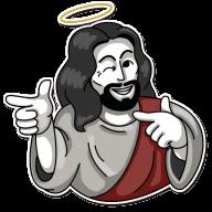 jesus stickers telegram