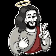 jesus stickers telegram 02