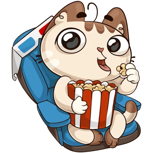 kotik vk stickers telegram 43