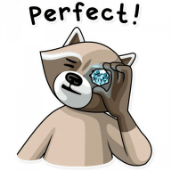 kriminalnyj enot stickers telegram 12