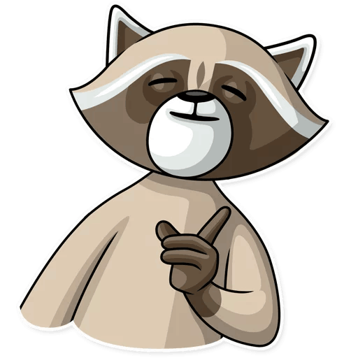 kriminalnyj enot stickers telegram 14