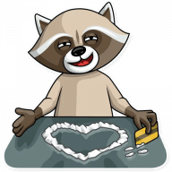 kriminalnyj enot stickers telegram 20