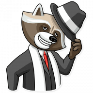 kriminalnyj enot stickers telegram 22