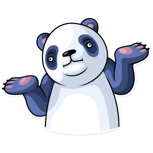 lenivaja panda stickers telegram 05