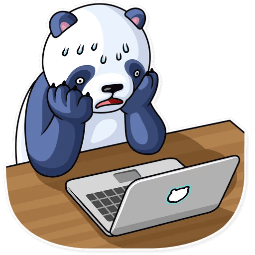 lenivaja panda stickers telegram 06