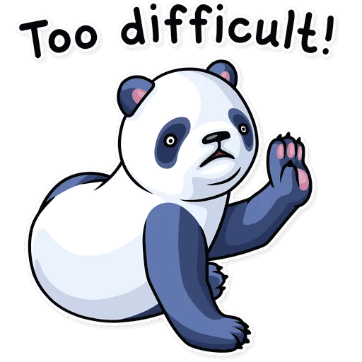 lenivaja panda stickers telegram 07