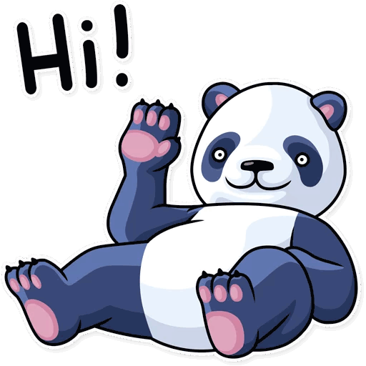 lenivaja panda stickers telegram 14