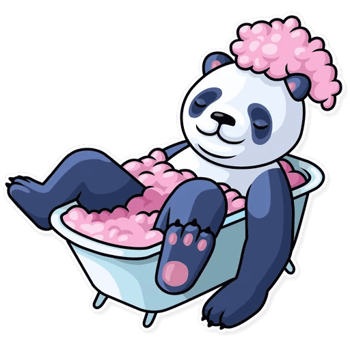 lenivaja panda stickers telegram 16