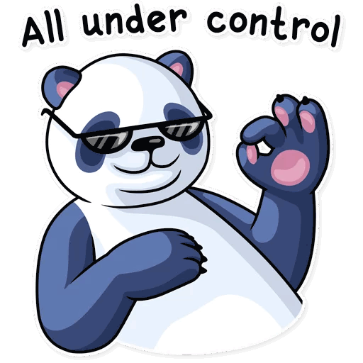 lenivaja panda stickers telegram 18