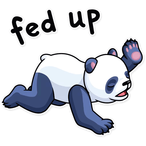 lenivaja panda stickers telegram 20
