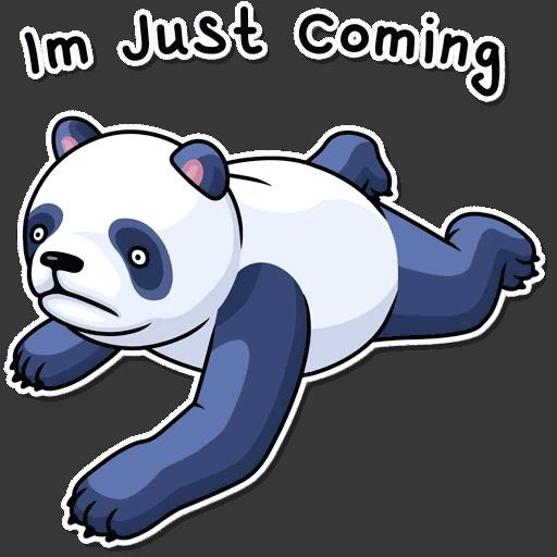 lenivaja panda stickers telegram 24
