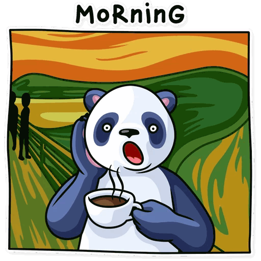 lenivaja panda stickers telegram 27
