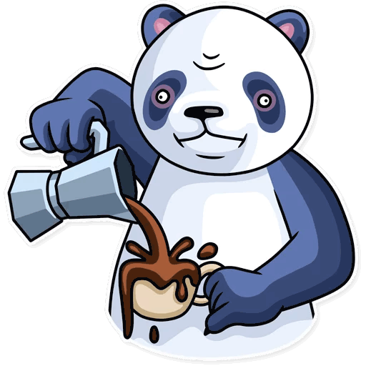 lenivaja panda stickers telegram 28