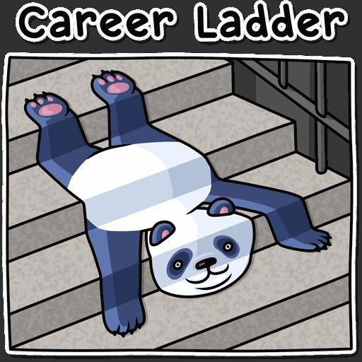lenivaja panda stickers telegram 31