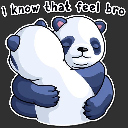 lenivaja panda stickers telegram 32