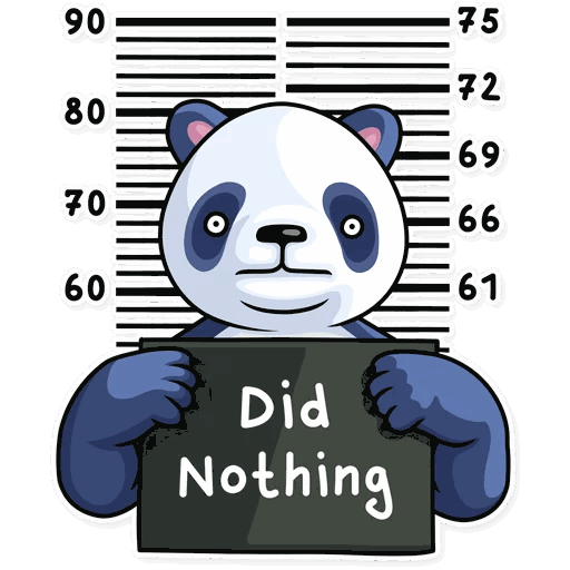 lenivaja panda stickers telegram 34