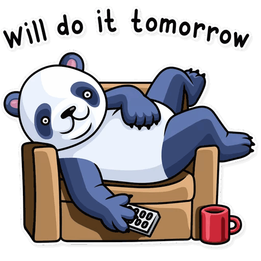 lenivaja panda stickers telegram 37