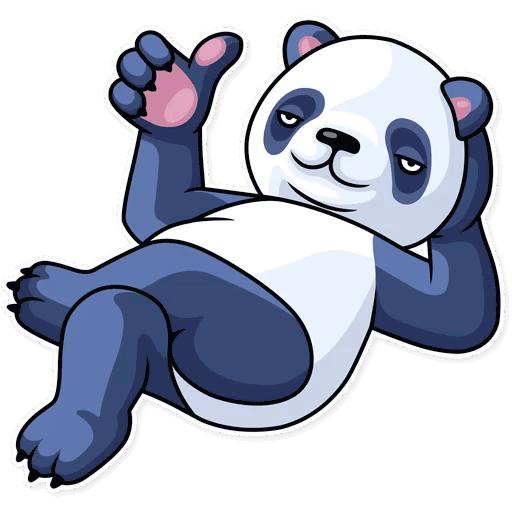 lenivaja panda stickers telegram 38