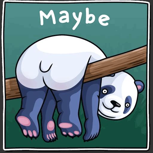 lenivaja panda stickers telegram 39