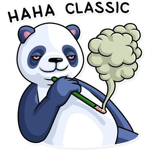 lenivaja panda stickers telegram 40