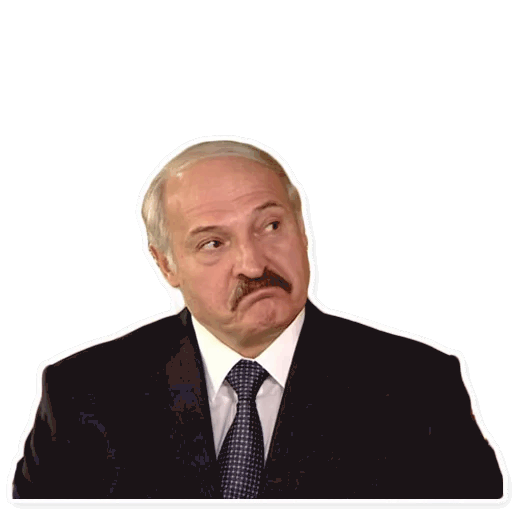 lukashenko stickers telegram 01