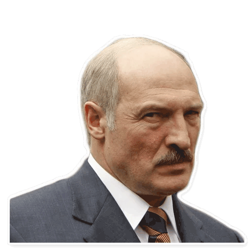 lukashenko stickers telegram 07