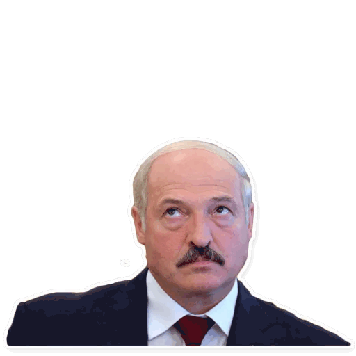 lukashenko stickers telegram 08
