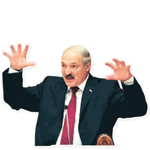 lukashenko stickers telegram 12