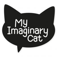 my imaginary cat stickers telegram
