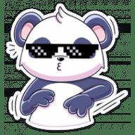 panda tori stickers telegram