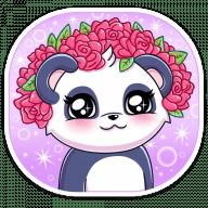 panda tori stickers telegram 11